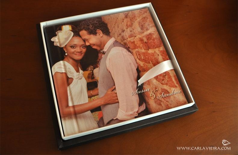 Álbum de Casamento_Capa em canvas