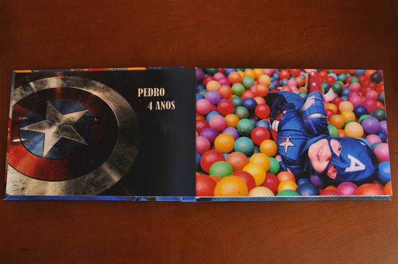 Álbum fotográfico - capa com foto